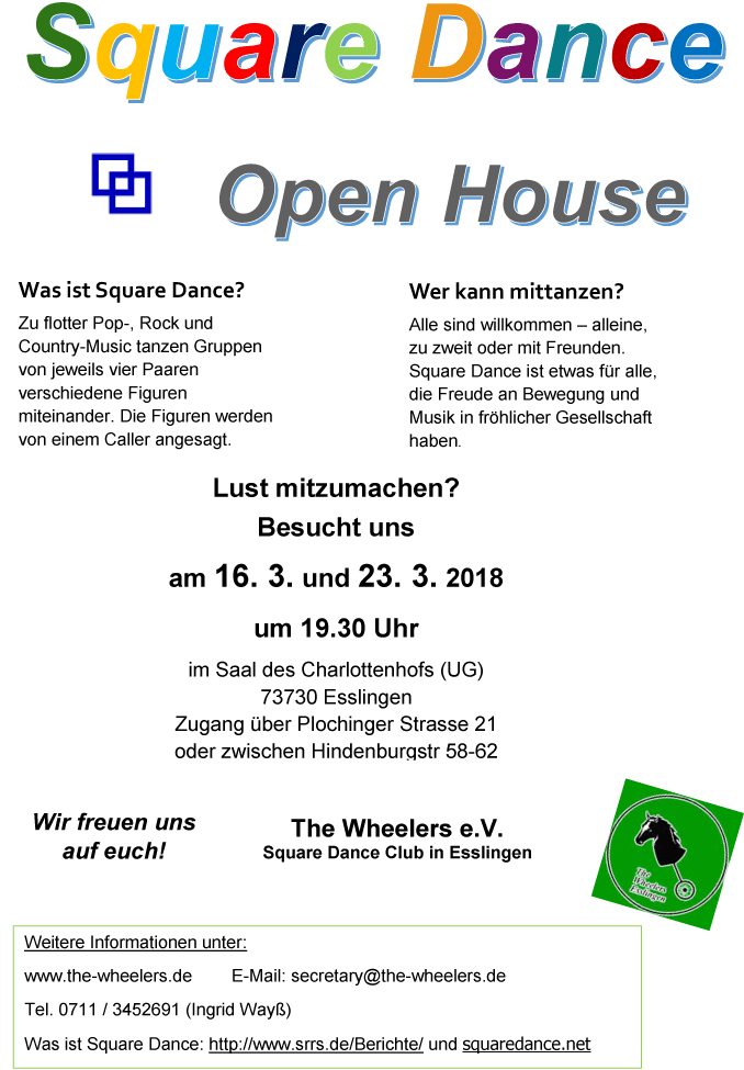 Flyer OpenHouse 2018